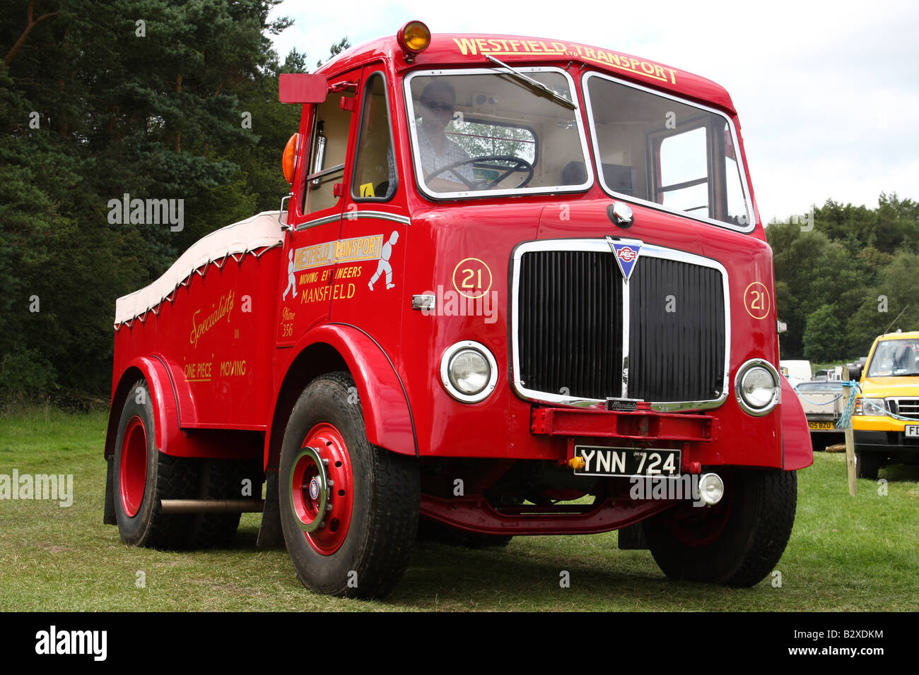 A vintage AEC lorry at the Cromford Steam Engine Rally 2008 - Stock Image
