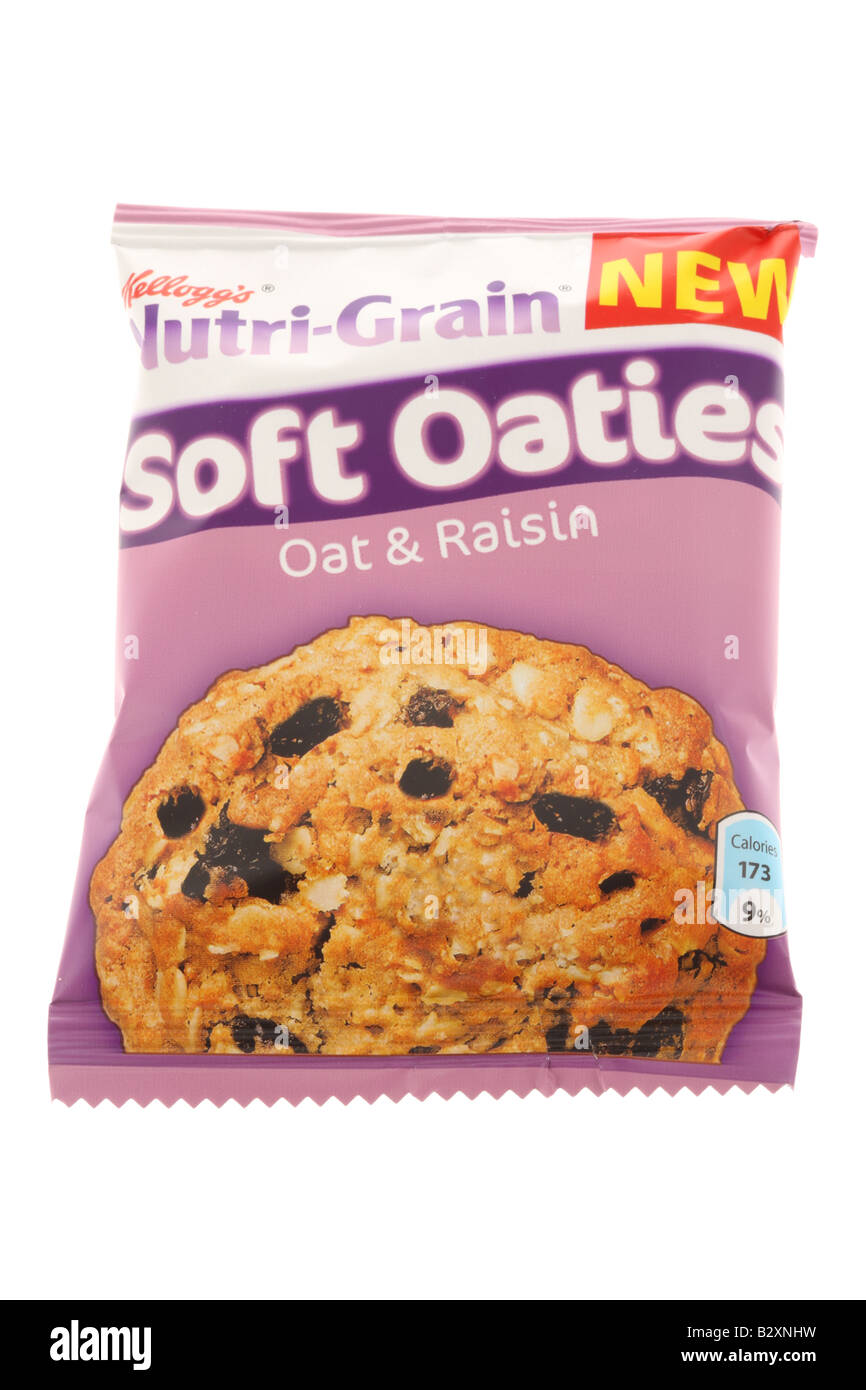 Biscuits Biscuit Box Food Cut Out Stock Images Pictures Alamy Jules Destrooper Apple Thin 100 Gr Oat And Raisin Image