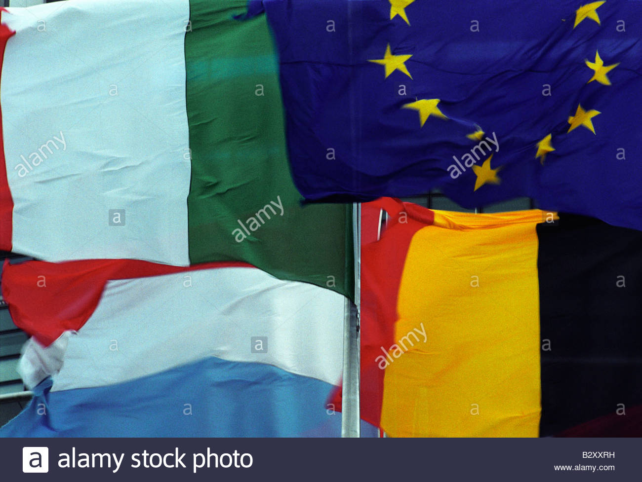 flags - Stock Image