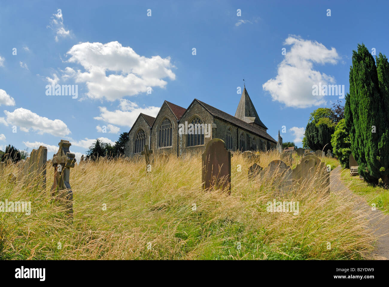 Westerham Church, Kent - Stock Image