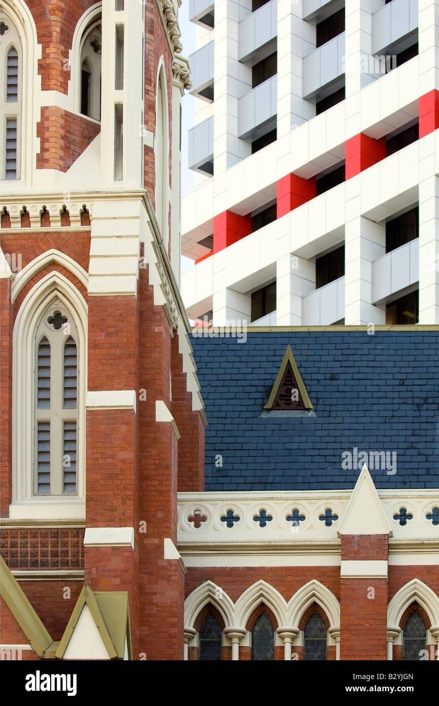 Harmonious contrast, Brisbane, Australia - Stock Image