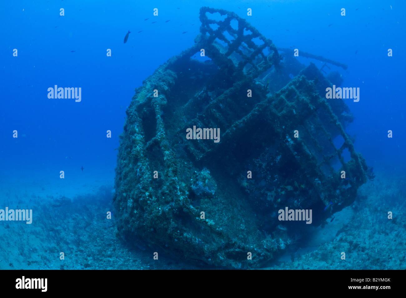Shipwreck in Palm Beach, FL - Stock Image