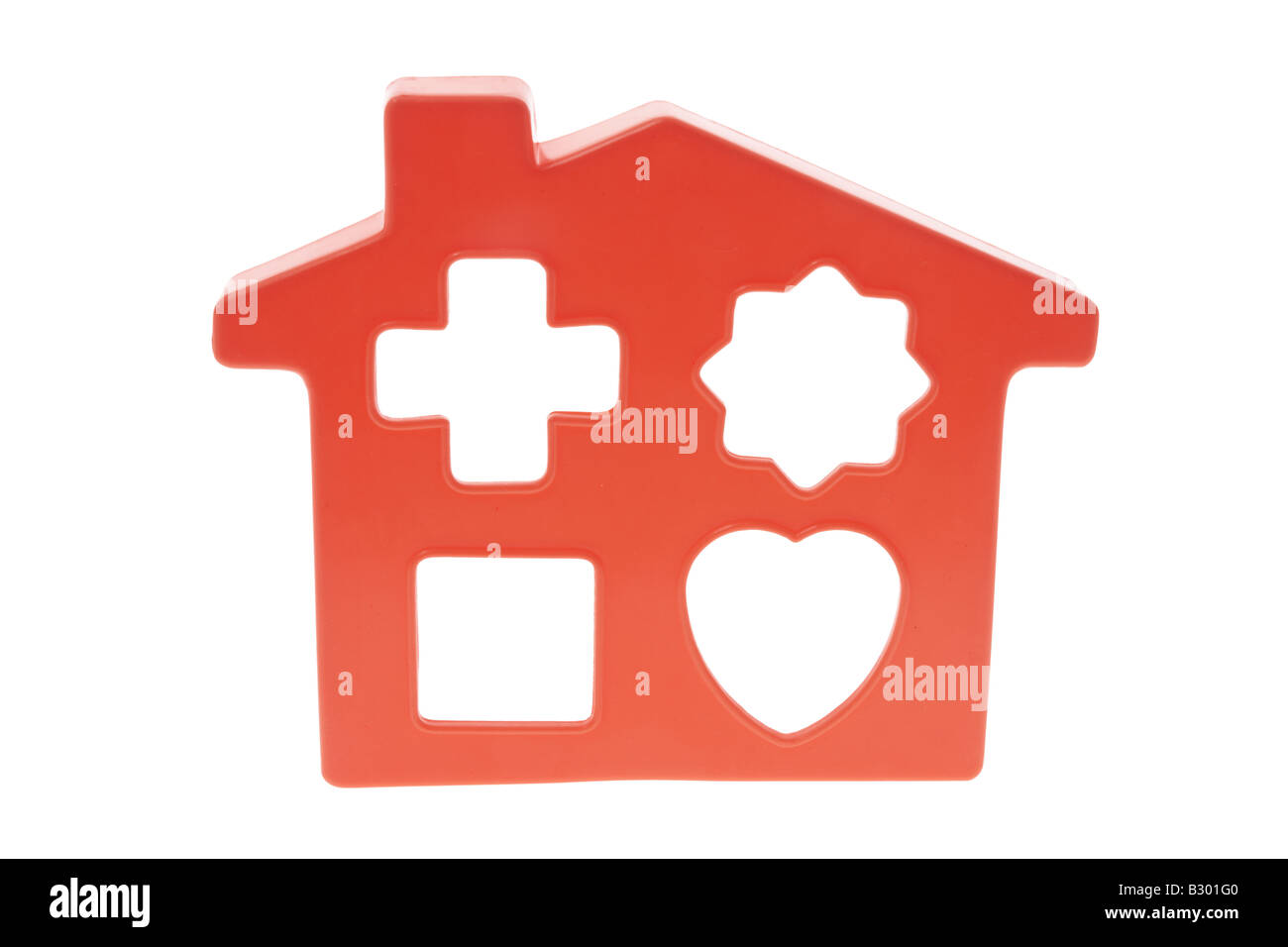 Toy House Template Stock Photos & Toy House Template Stock