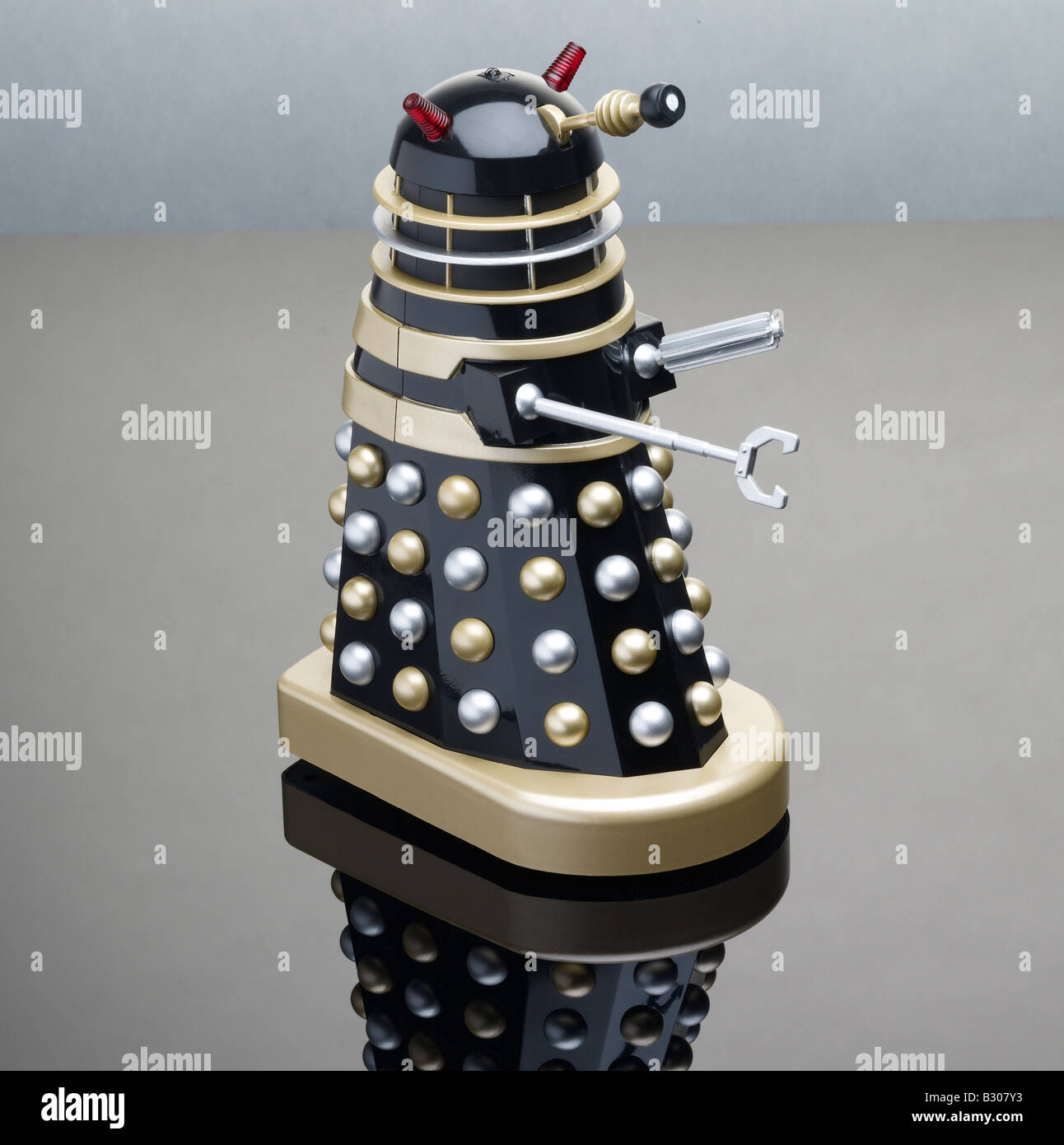 Doctor Who Dalek toy - Stock Image