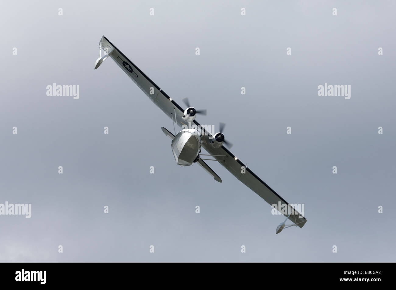 PBY Catalina seaplane - Stock Image