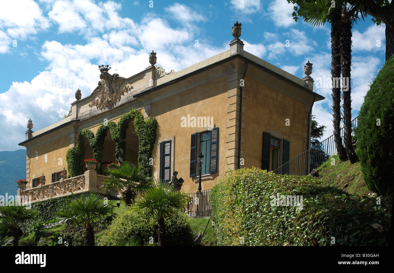 Garden Villa Balbianello Lenno Lake Stock Photos & Garden Villa ...