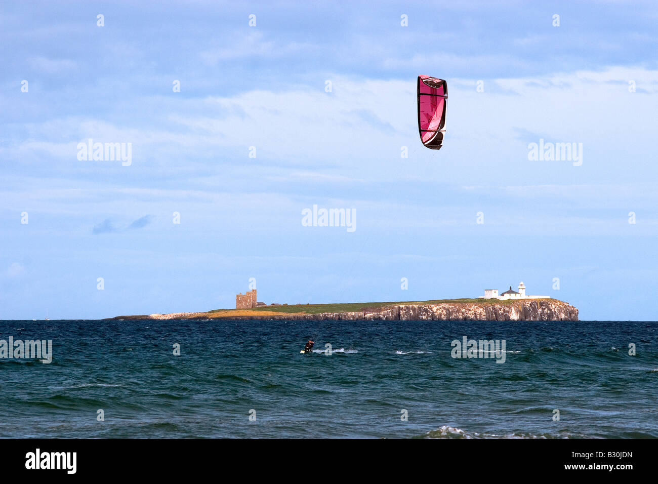Para-surfing Stock Photo