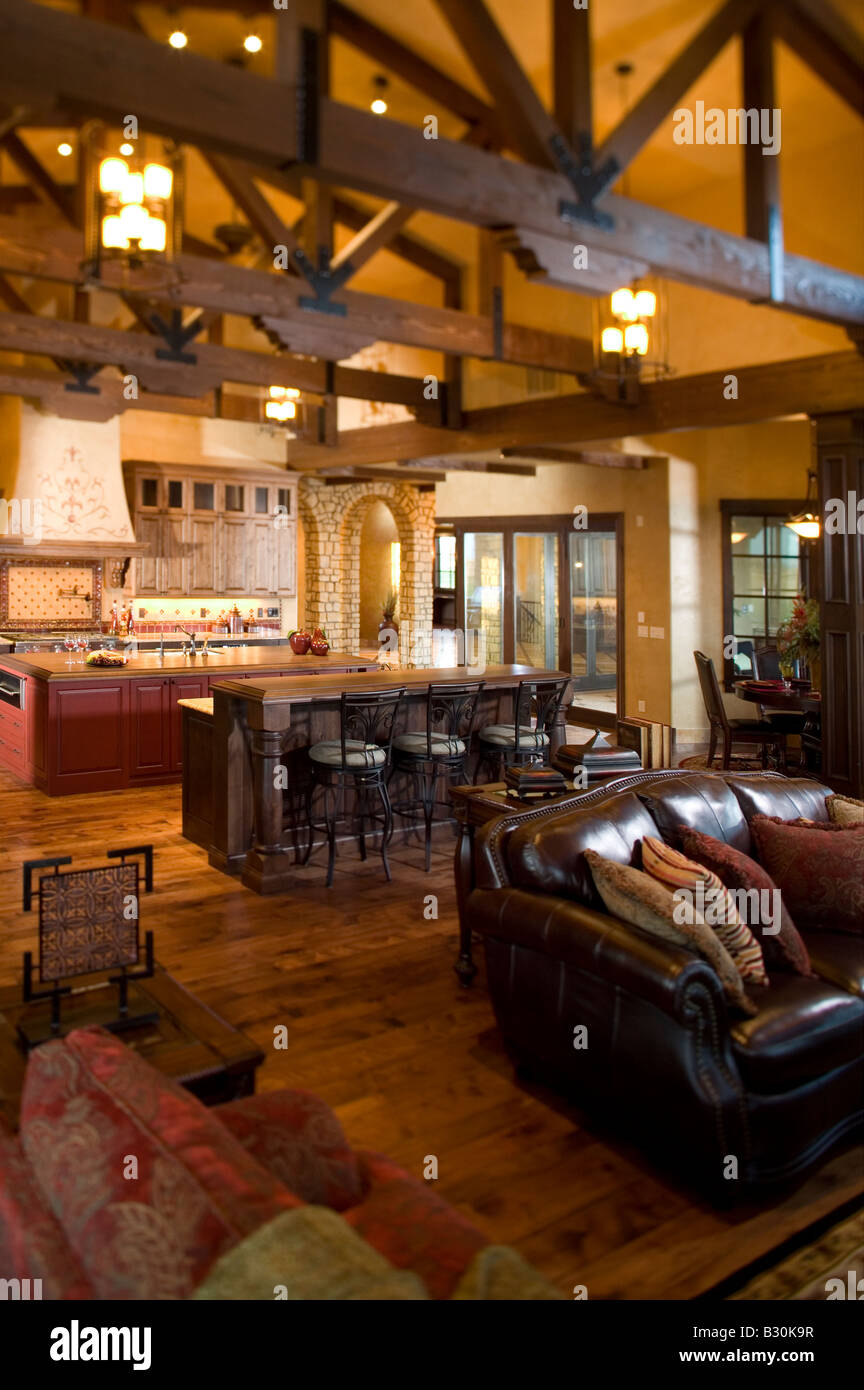 luxury home interior great room and kitchen fort collins colorado - The Kitchen Fort Collins