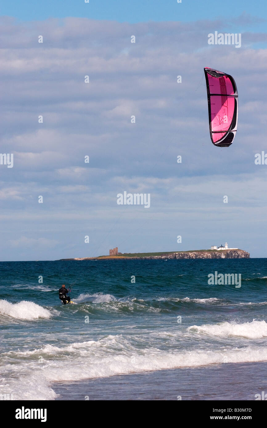 Para-surfer sail Stock Photo