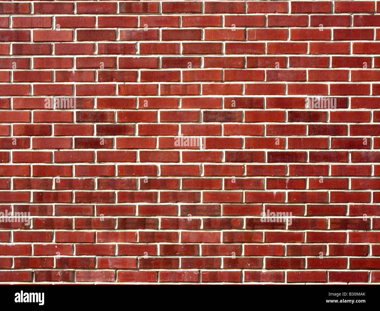 Red Brick wall Background - Stock Image