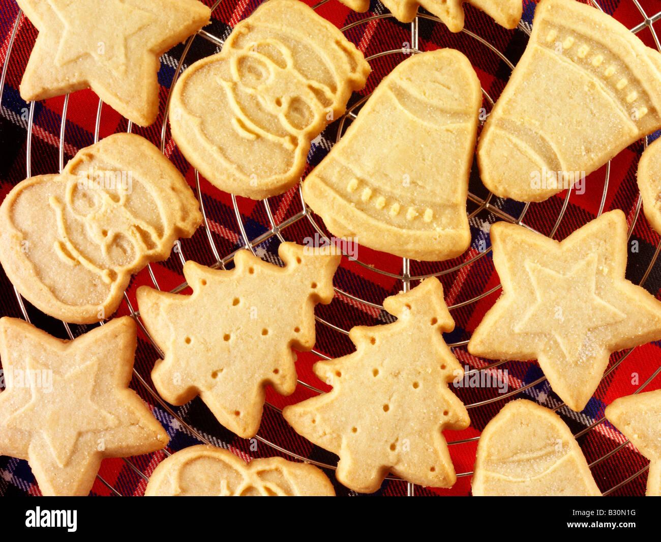 Christmas Scottish Shortbread Stock Photo 19070844 Alamy