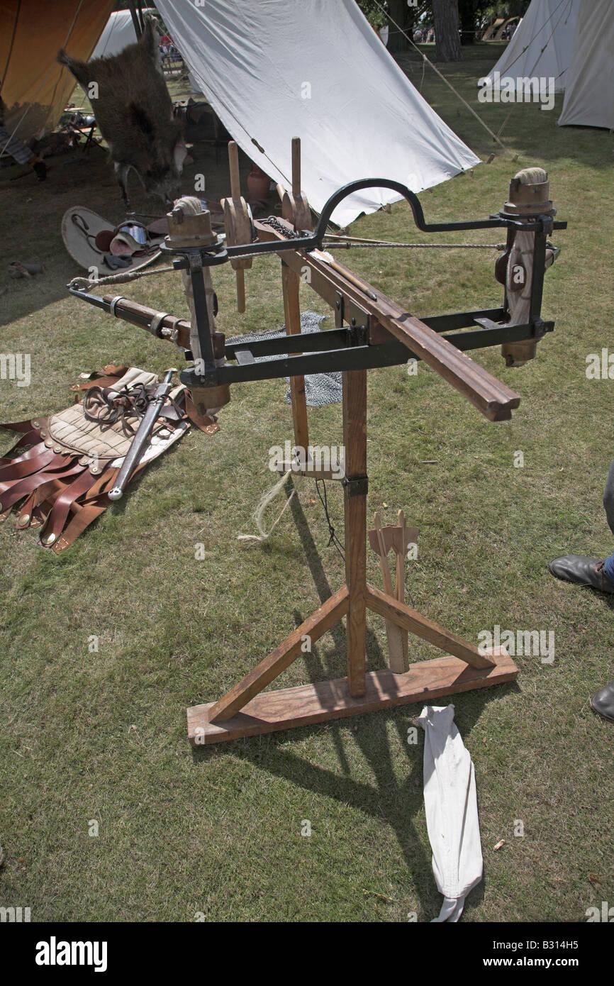 A Roman stinger machine for firing arrows - Stock Image