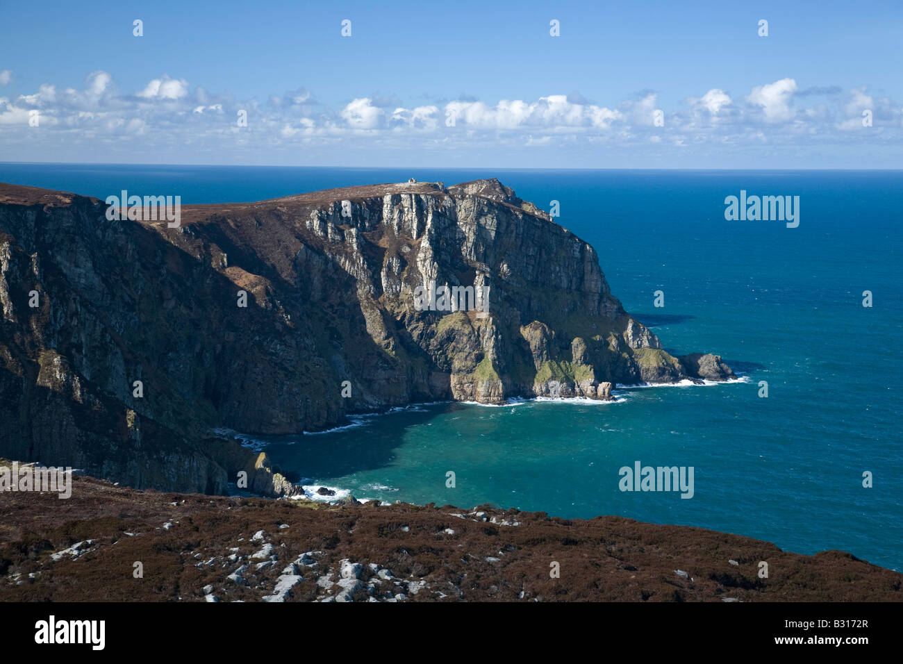 The cliffs of Horn Head, near Dunfanaghy, County Donegal, Ireland. - Stock Image