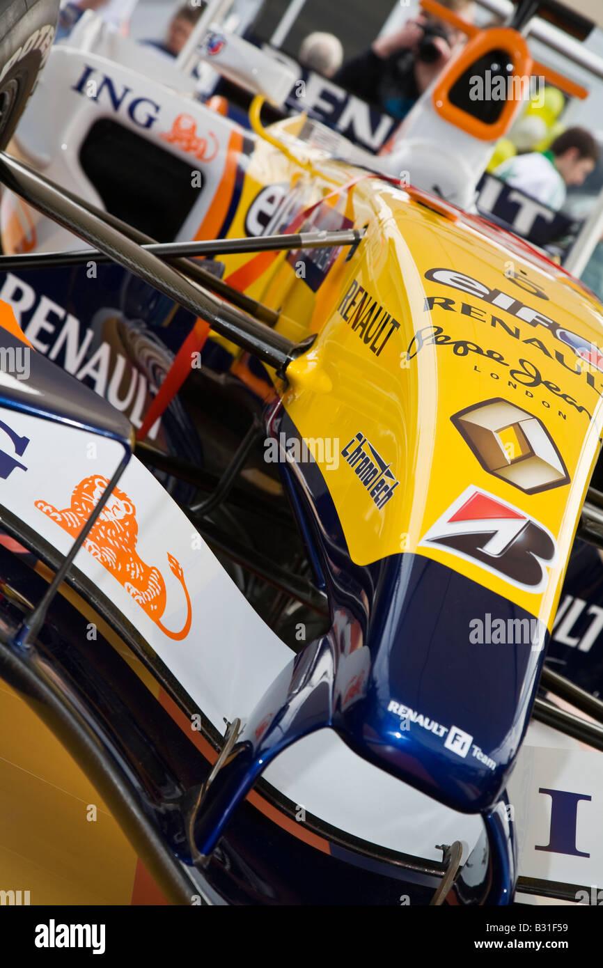 Renault Elf R28 Formula 1 One car - Stock Image