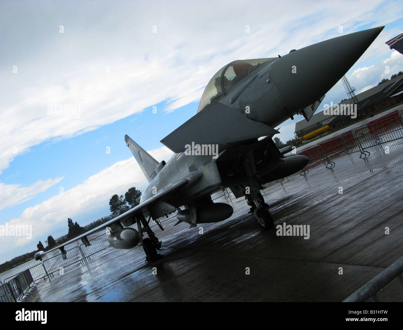 A growing presence in European Air Superiority Five of Europe's major Air Forces are already operating Eurofighter - Stock Image