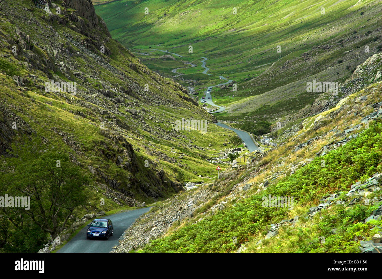 Honister Pass, Lake District, Cumbria - Stock Image