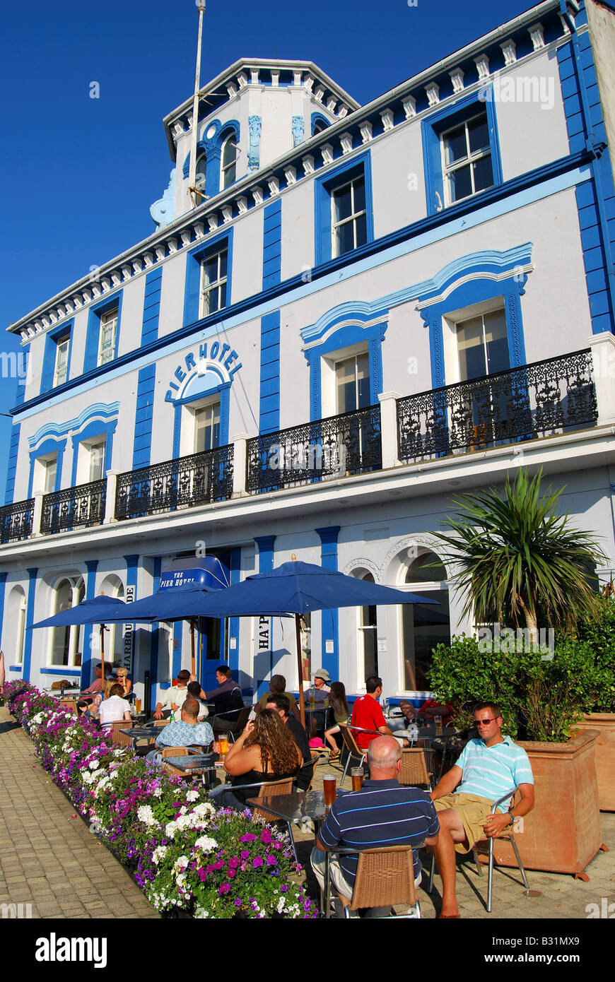The Pier Hotel, The Quay, Harwich, Tendring District, Essex, England, United Kingdom - Stock Image