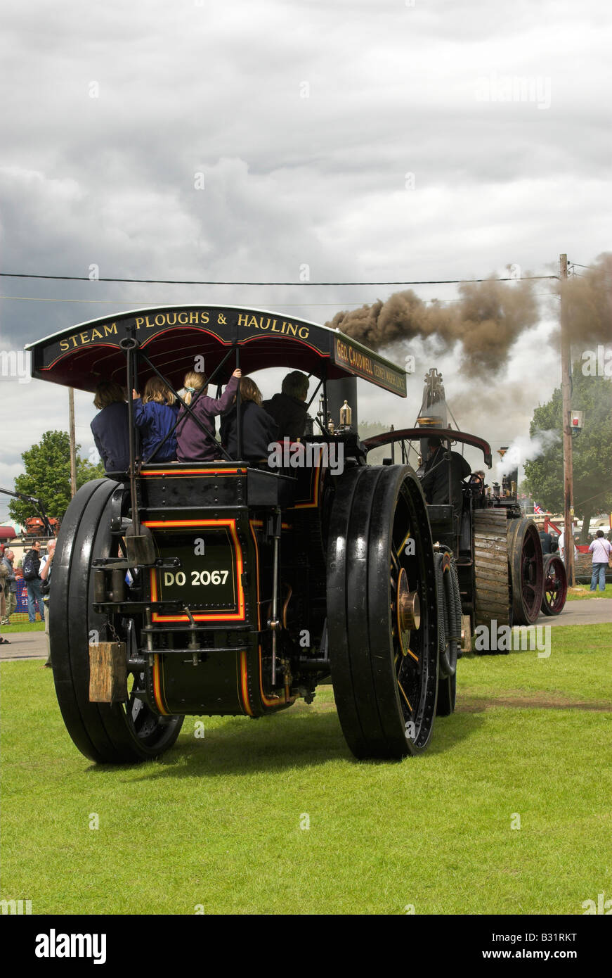 A Burrell Road Locomotive 'The President' No. 2789 8nhp - built 1905. - Stock Image