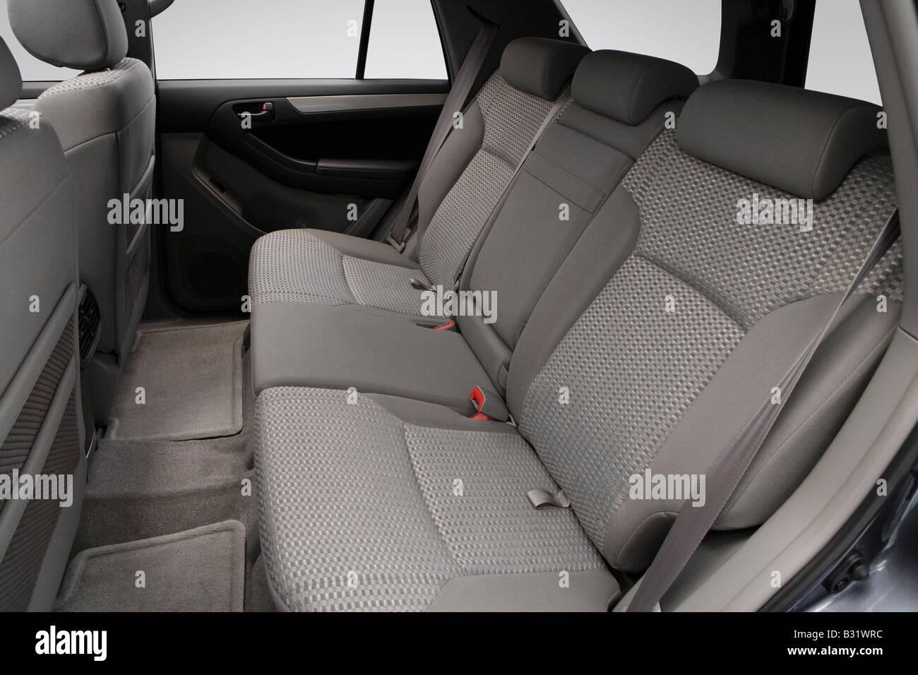 2008 Toyota 4runner Sr5 In Gray Rear Seats Stock Photo Alamy