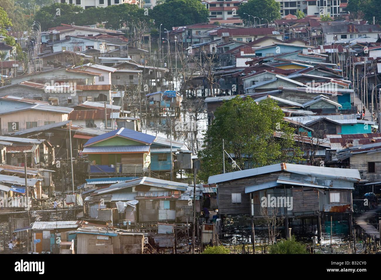 Kota Kinabalu Sabah Borneo - Stock Image