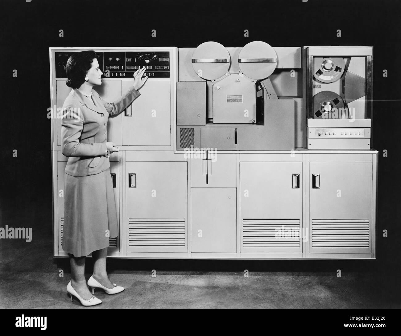 1950's COMPUTER - Stock Image