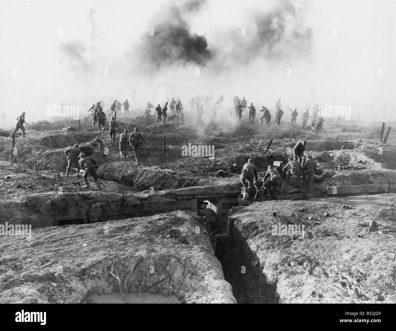 WESTERN FRONT - Stock Image