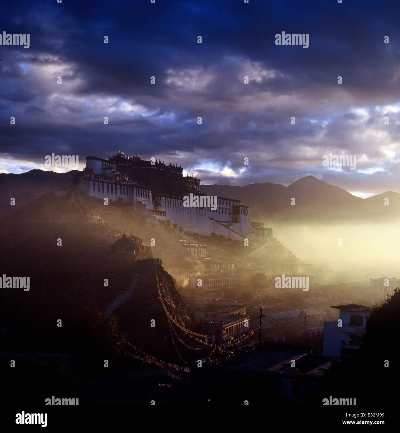 Potala Palace,Lhasa,China - Stock Image