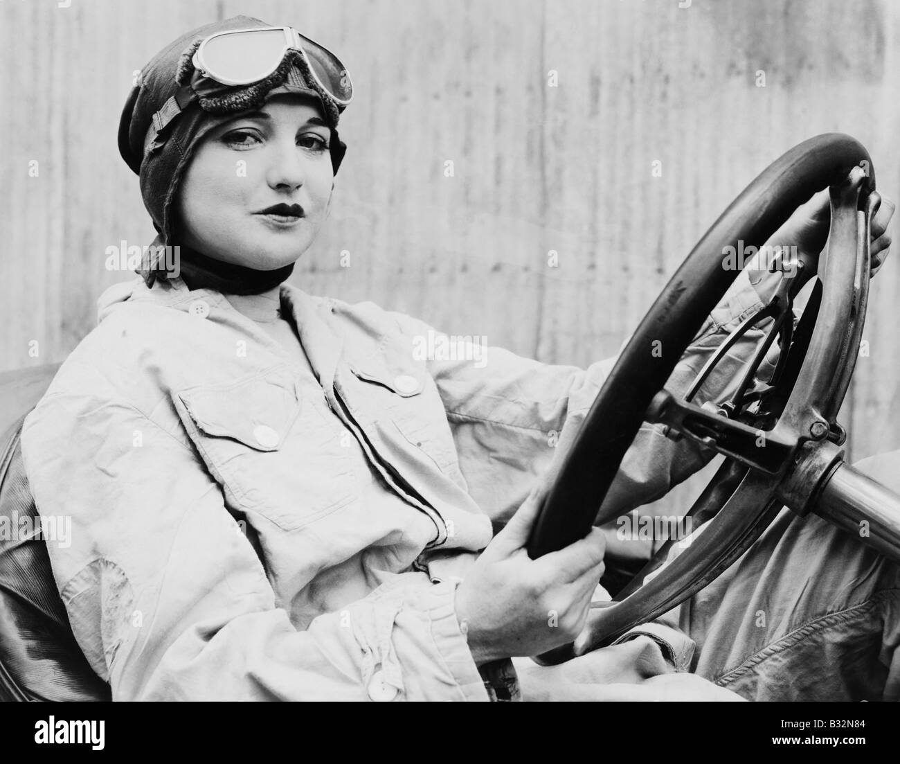 Female Race Car Driver Vintage High Resolution Stock Photography And Images Alamy