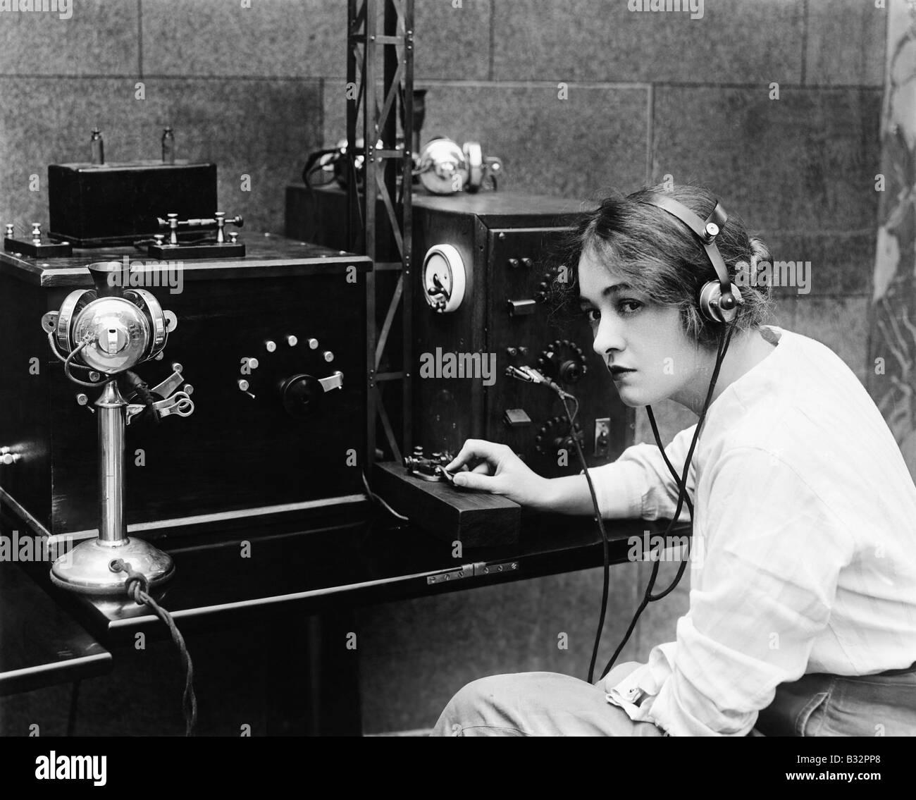 Morse Code Machine Stock Photos & Morse Code Machine Stock