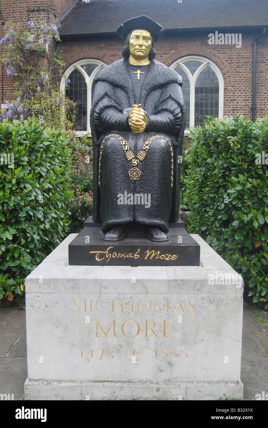 Leslie Cubitt Bevis 'sir Thomas More' - Stock Image