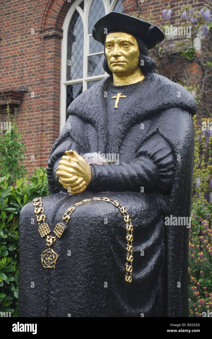 'Sir Thomas More' - Stock Image