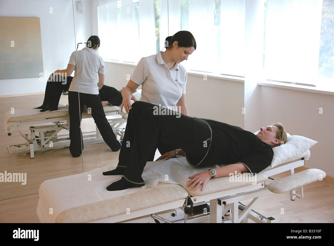 Post-operative measures after operation - Stock Image
