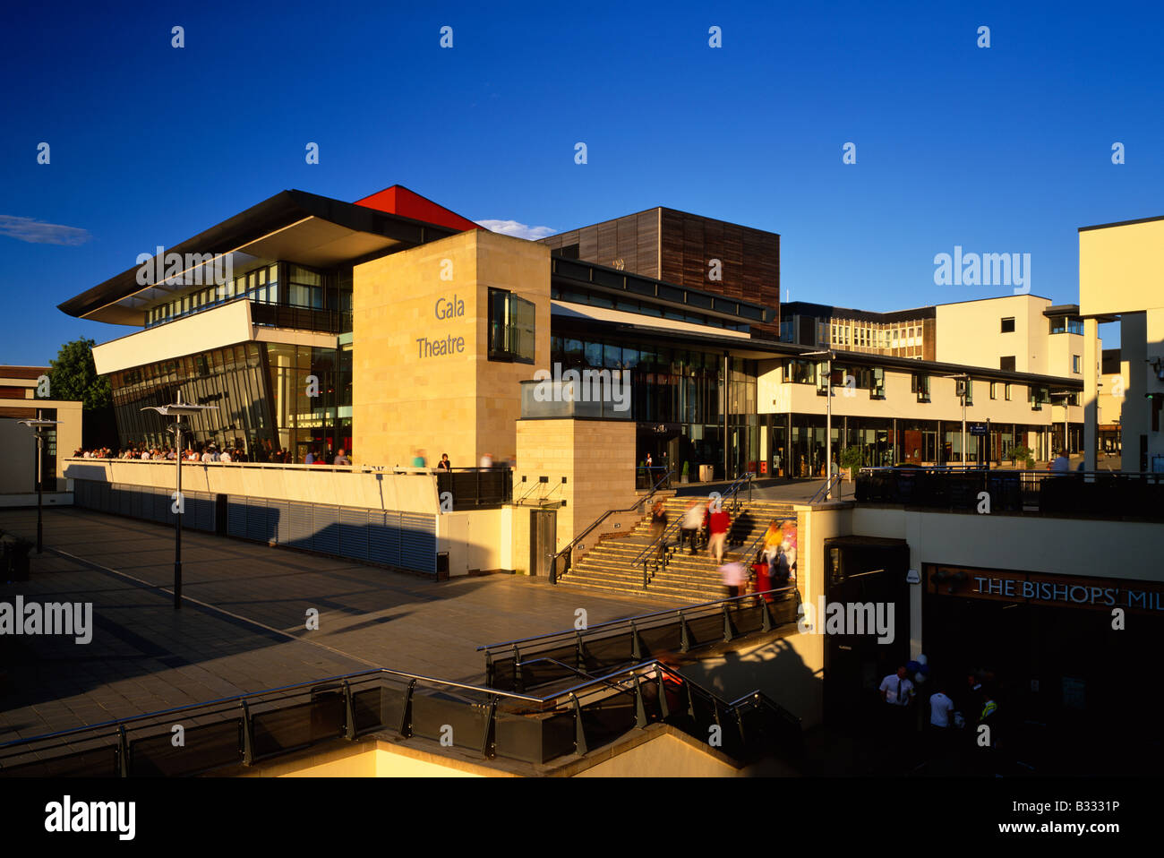 Evening External View Of The Gala Theatre Durham City County