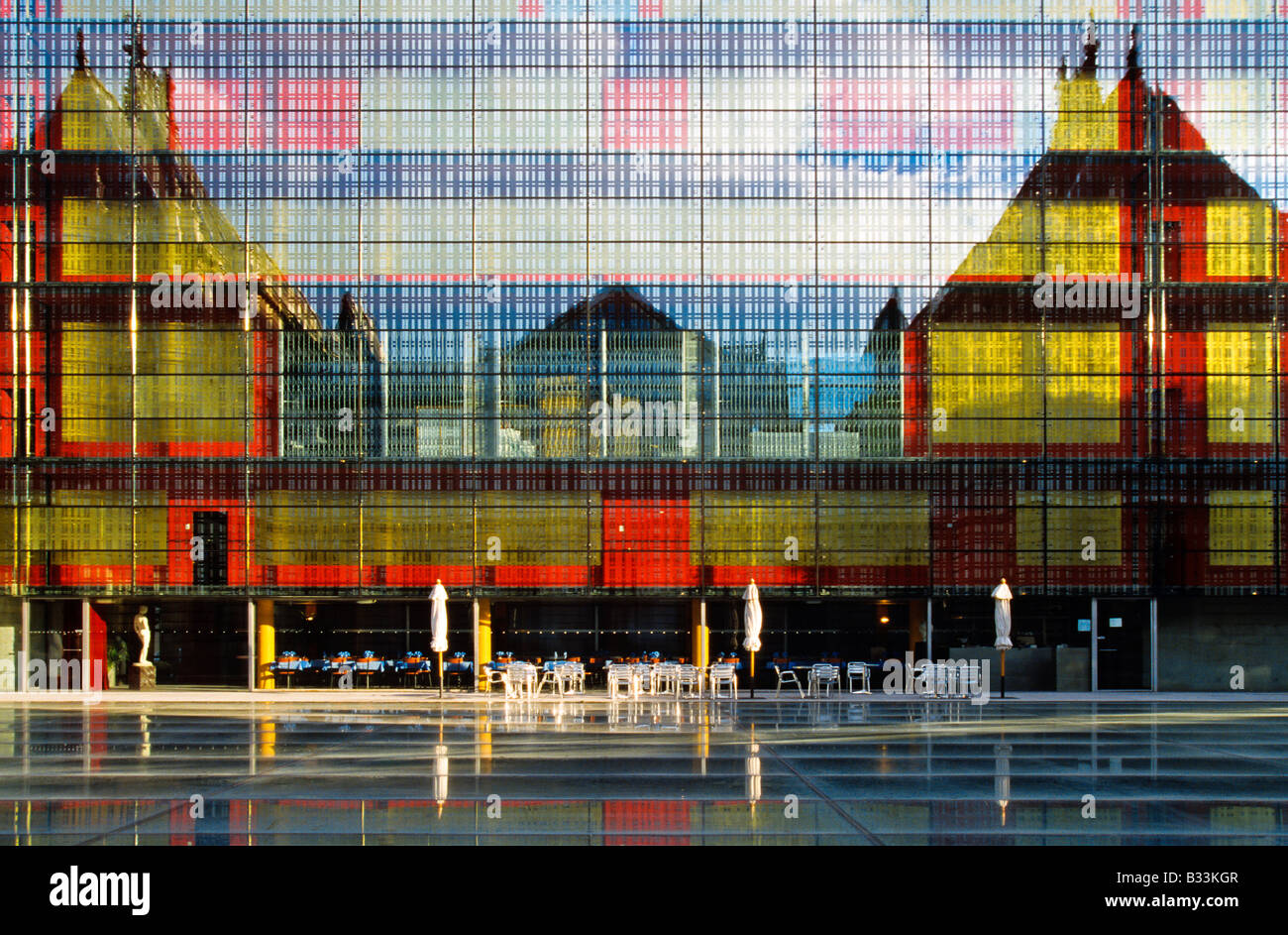 ART MUSEUM LILLE NORD FRANCE - Stock Image