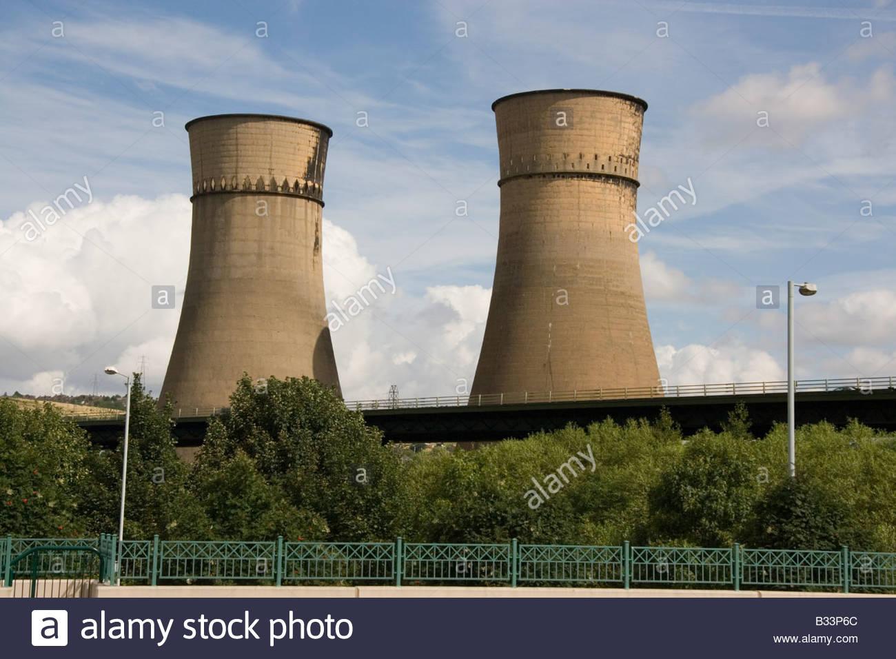 Tinsley Towers Sheffield England - Stock Image