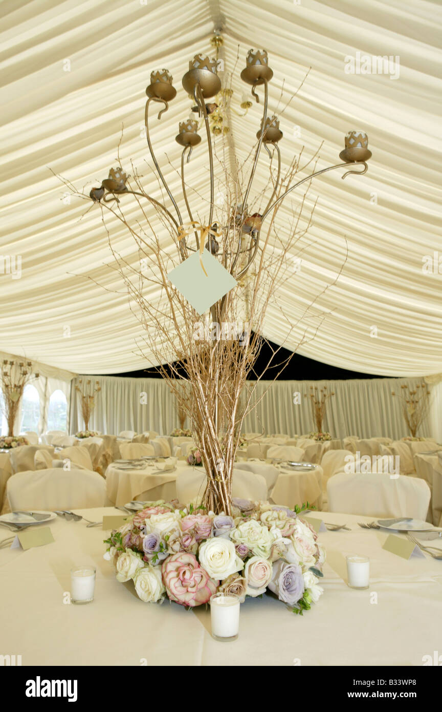 vertical wedding reception table flower decoration display or stock