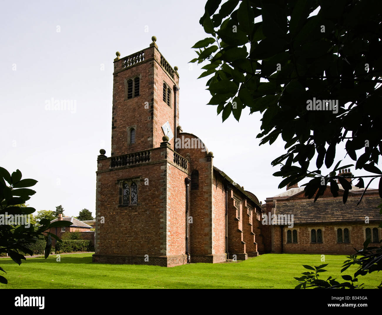 UK Cheshire Knutsford Tabley House St Peters Chapel 1675 - Stock Image