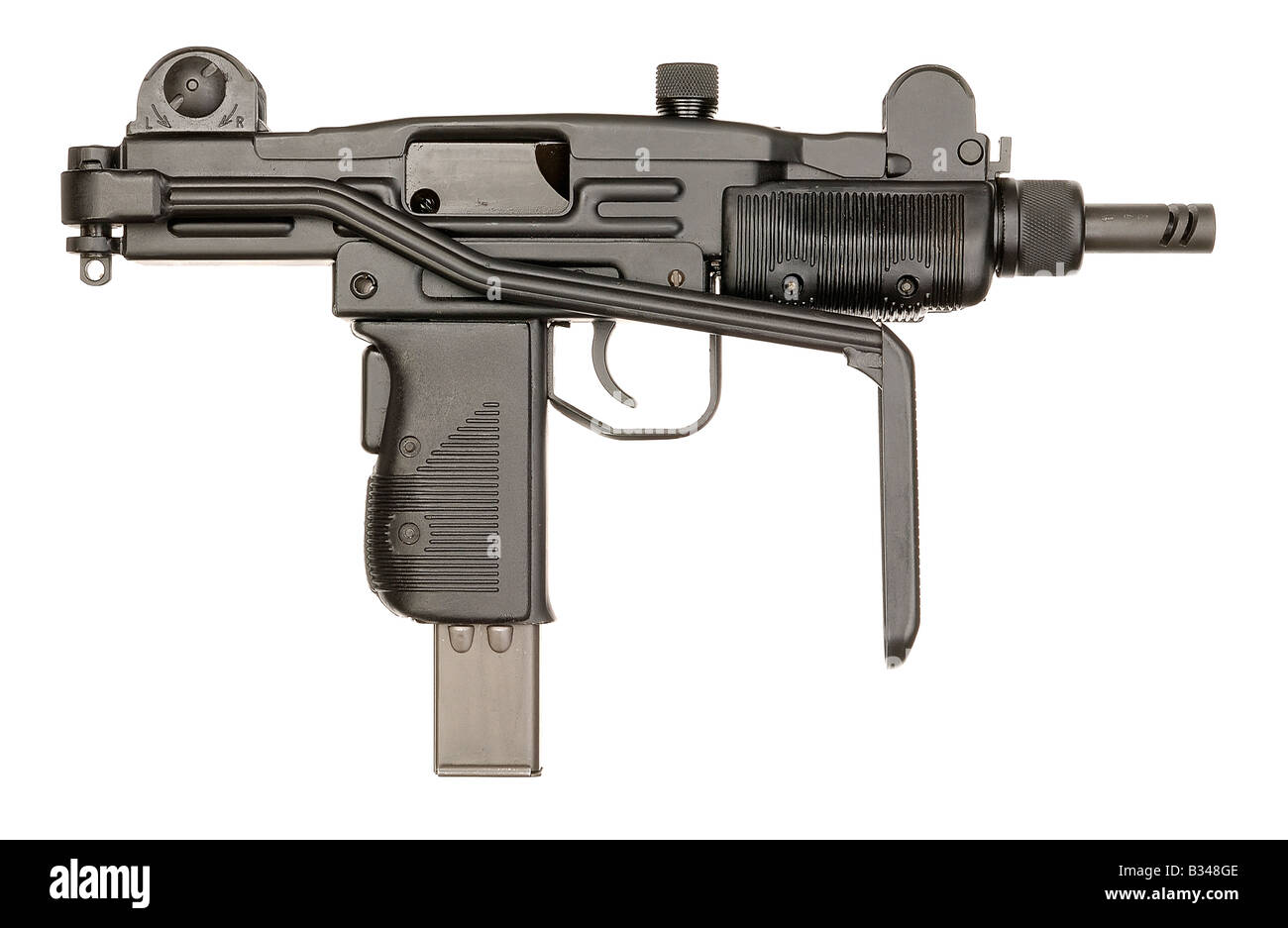 mini gun cut out stock images pictures alamy