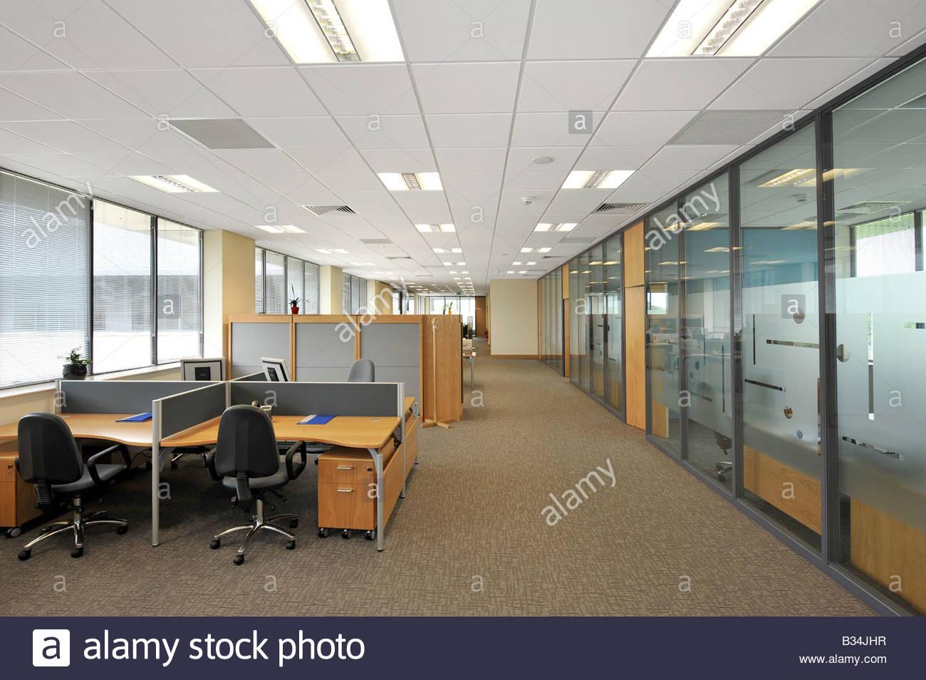 office space plan. Modern Open Plan Office Space