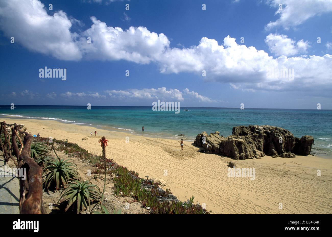 Porto Santo Island Madeira - Stock Image