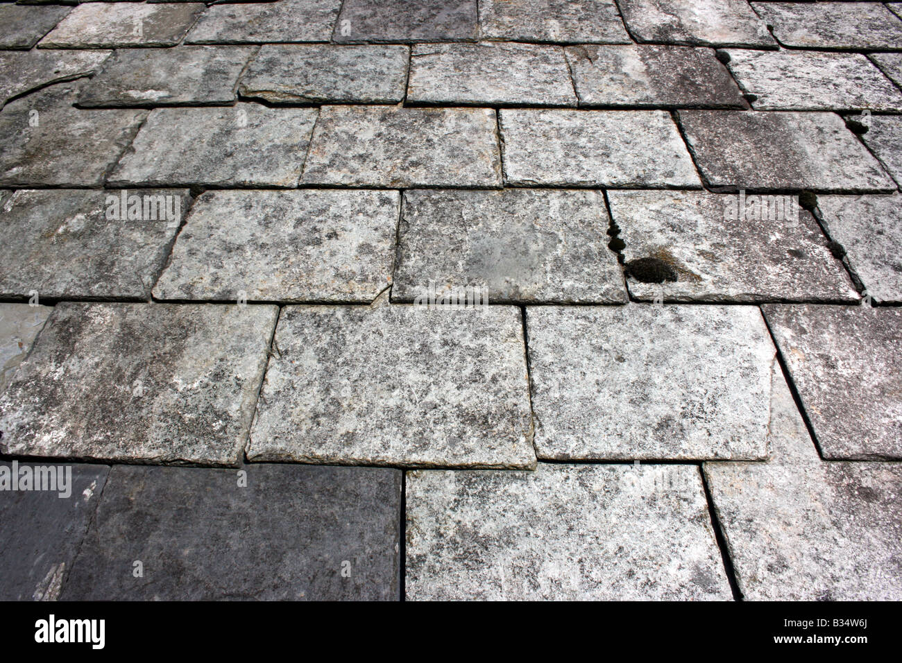 Slate Tile Roof Stock Photos Slate Tile Roof Stock Images Alamy