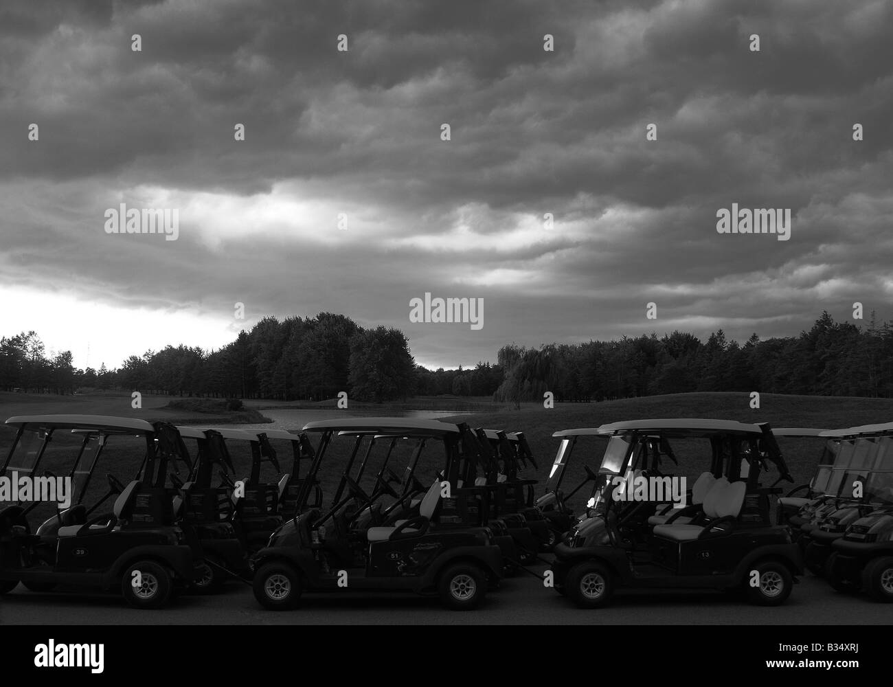 Golfers Black and White Stock Photos & Images - Alamy on