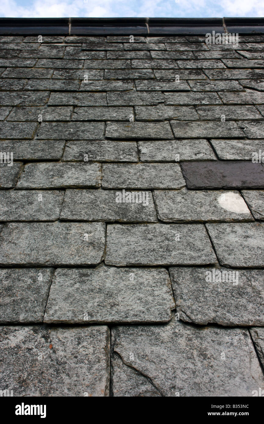 Old Slate Roof Tiles Stock Photos Amp Old Slate Roof Tiles