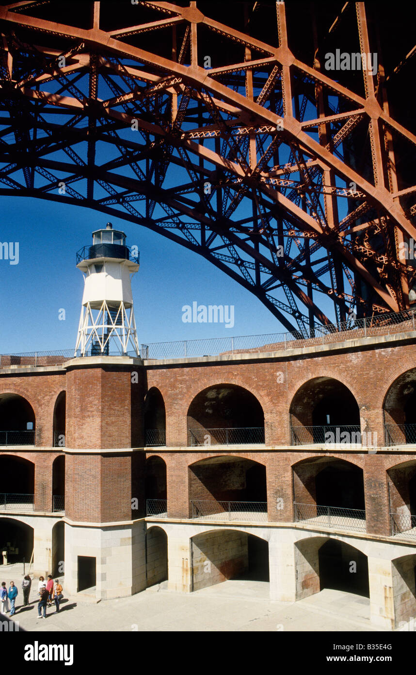 Fort Point National Historic Site, Golden Gate National Recreation Area, San Francisco, California - Stock Image