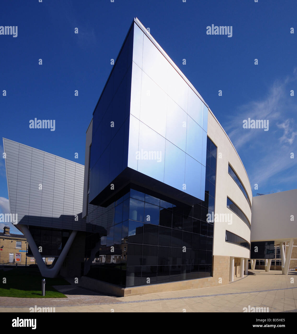 University of Huddersfield Creative Arts Building - Stock Image