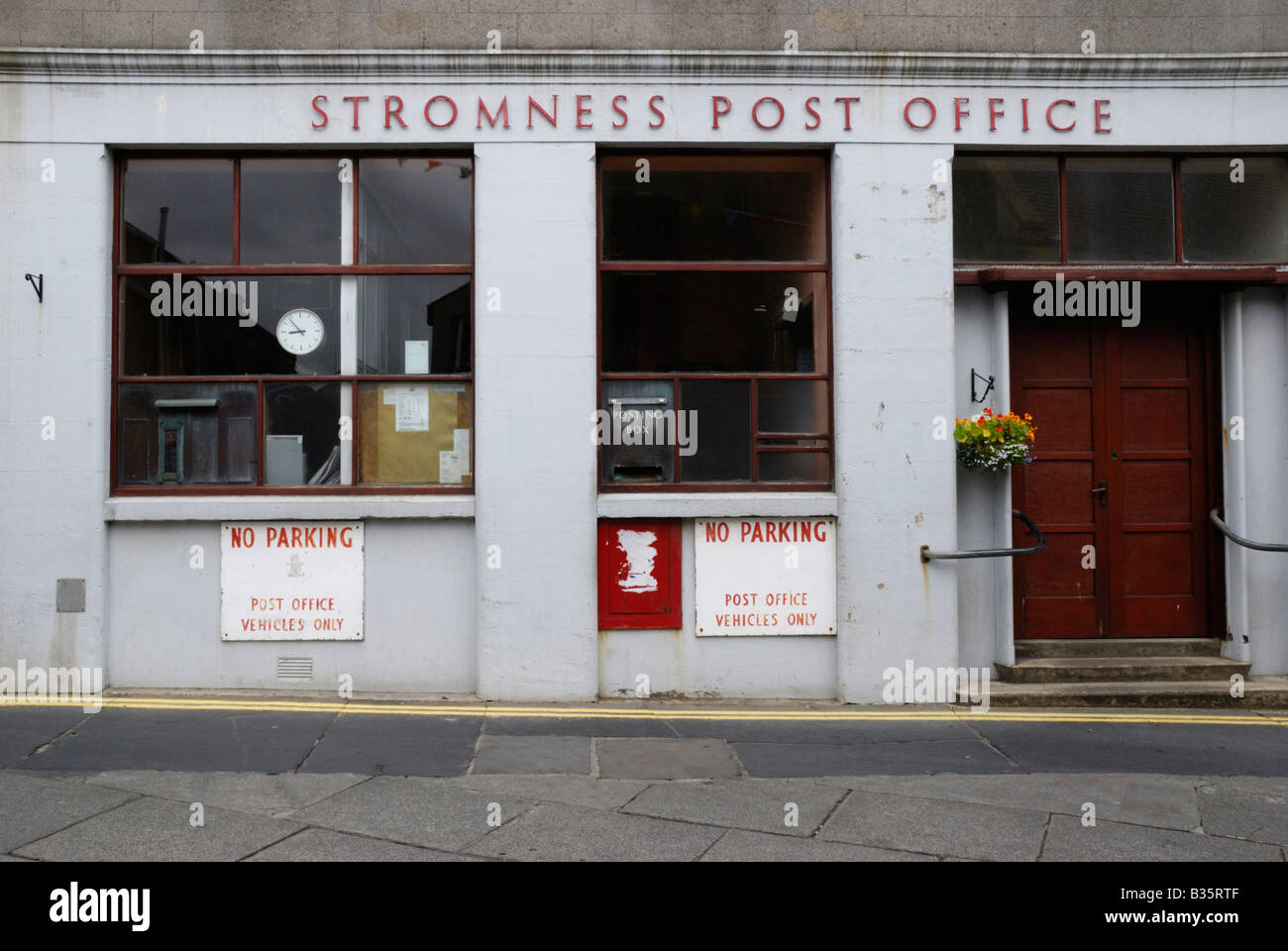 Stromness post office Orkney Scotland - Stock Image