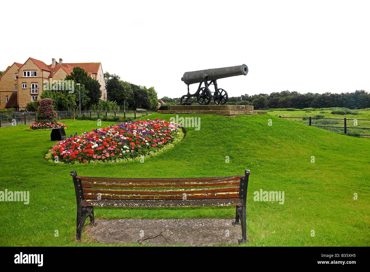 Remembering the battle of Sebastopol. Huntingdon. - Stock Image