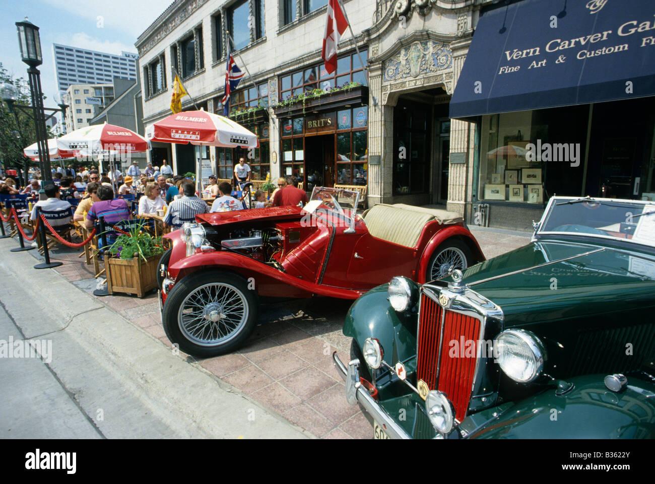 Nicollet Avenue Minneapolis Stock Photos Nicollet Avenue - Minneapolis car show