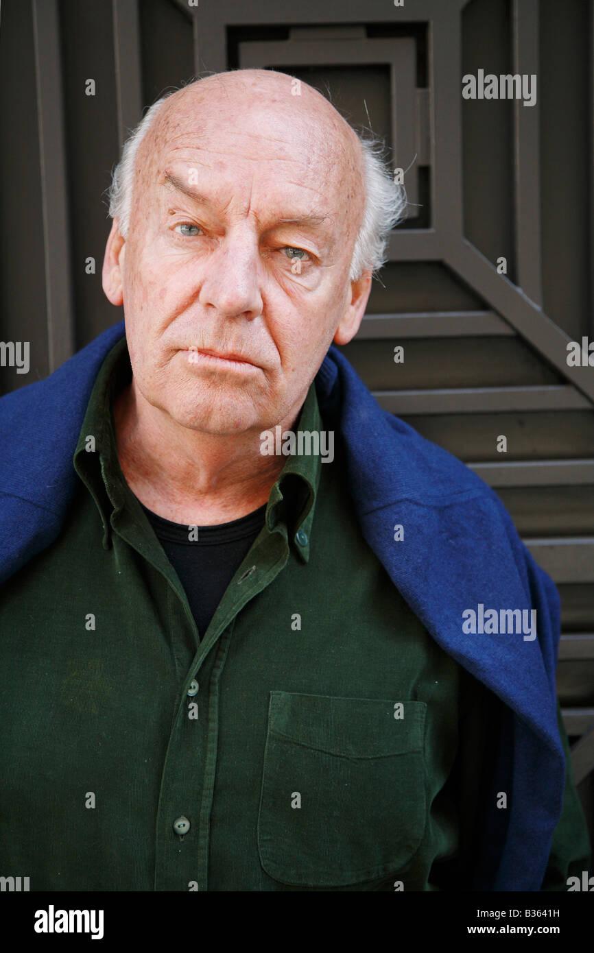 The Uruguayan writer and journalist Eduardo Hughes Galeano - Stock Image