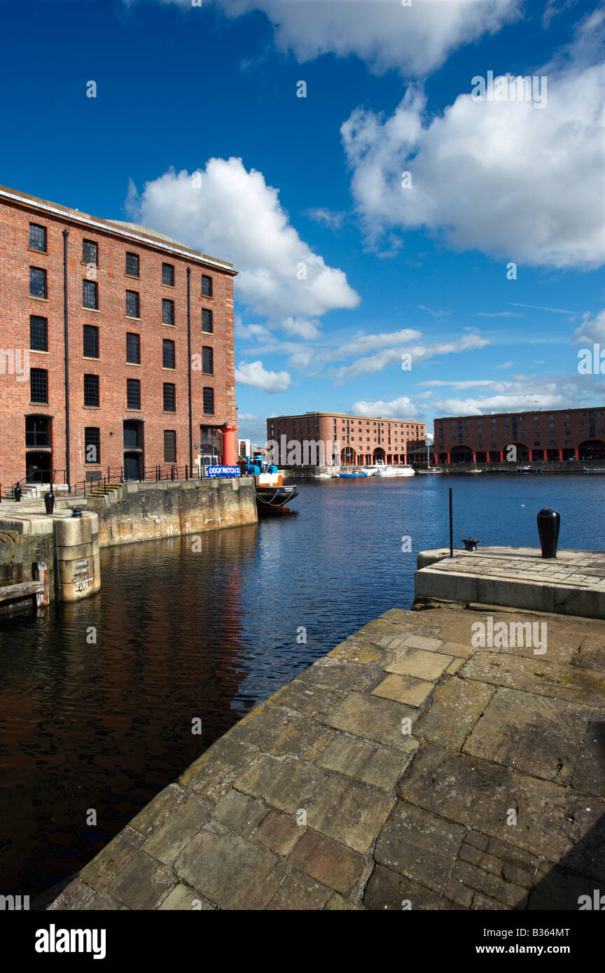 The Albert Dock Liverpool UK Stock Photo